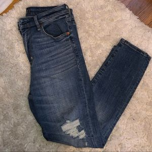 Abercrombie & Fitch high waisted ankle jeans